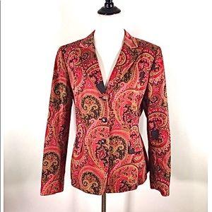 *EUC Tahari bold blazer